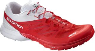 Salomon S-lab Sense 5 Ultra Racing Red/White/Rd - Utgående Modell