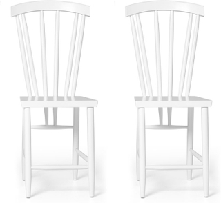 Design House Stockholm - Family Chair No. 3 2-Pack, Hvit