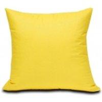 Poszewka bawełniana Semplice żółta 40x40