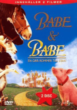 Babe + Babe - En Gris Kommer Till Stan -dvd