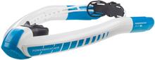 AMEO Powerbreather Sport 2.0 Snorkkeli, white/blue 2020 Uintivarusteet