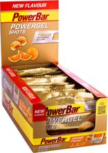 PowerBar PowerGel Shots Box 16 x 60g, Orange 2020 Shotit ja makeiset