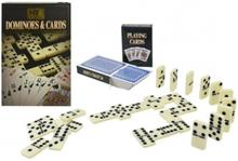 3-pack Spelkort Och Domino Snyggt Förpackning