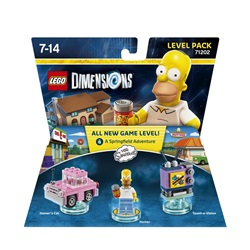 LEGO Dimensions Level Pack - The Simpsons - wupti.com