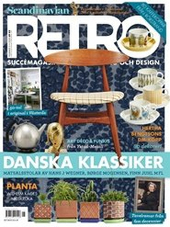 Tidningen Scandinavian Retro 3 nummer