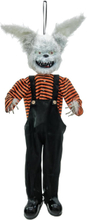 Halloween animated the evil rabbit