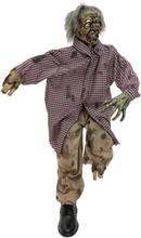 Halloween animated siddende zombi