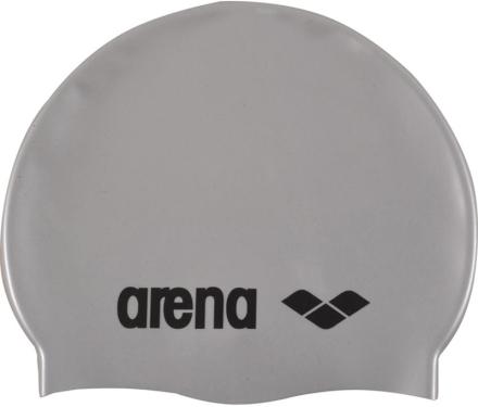 arena Classic Silicone Badehette Grå/sølv 2019 Badehetter