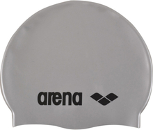 arena Classic Silicone Cap silver-black 2020 Badehetter