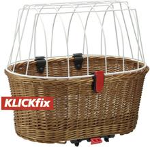 KlickFix Doggy Basket for Racktime 2020 Cykelkorgar för pakethållare
