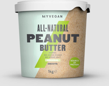 Organic Peanut Butter - 1kg - Smooth