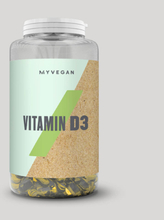 Vegan Vitamin D3 Softgels - 180Capsules