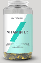 Vitamin D3 Softgels - 180Capsules