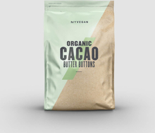 Organic Cacao Butter Buttons - 300g - Unflavoured