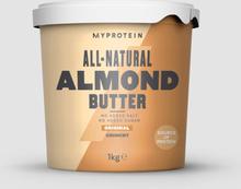 All-Natural Almond Butter - Original - Crunchy