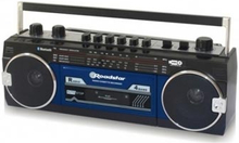 Roadstar RCR3025EBT Kassettbandspelare BT / Blå