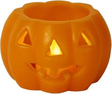 Vaxljus Halloweenpumpa med LED