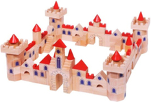 Wooden building blocks Castle 145dlg.
