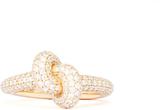 Ring Tight Knot Guld White Diamonds - 54