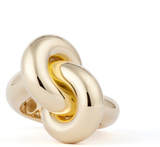 Ring Fat Tight Knot Guld - 49