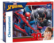 3D Puzzle Spiderman 104st.