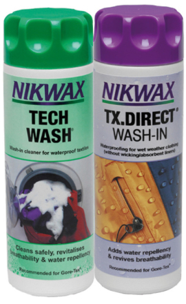 Nikwax Tech Wash + TX.Direct Wash-In 2 x 300 ml , monivärinen 2018 Tekstiilien pesu