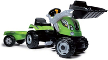 Max Tractor with Trailer - Green
