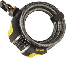 Onguard Dobermann Combo 8031 Spiral Cable Lock 185 cm Ø12 mm 2019 Kombinationslås
