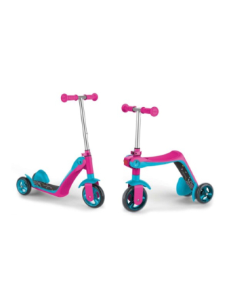 Reversible 2in1 Scooter Pink