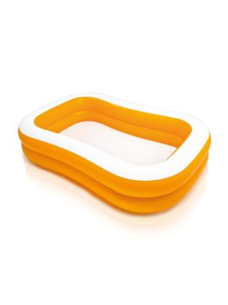Inflatable Swimming Pool Orange
