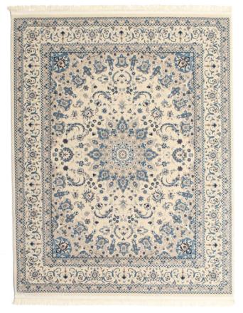 Nain Emilia - Cream / Blå matta 250x300 Orientalisk Matta