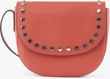 PIECES Leather Crossbody Bag Kvinna Röd