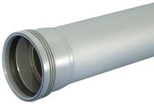 Wavin 40 mm grå avløpsrør - 500 mm