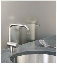 Vola KV1 køkkenarmatur, rustfrit stål