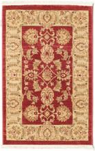 Ziegler Kaspin - Röd matta 80x120 Orientalisk Matta