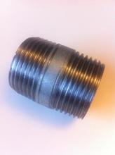 """Galvanisert Nippelrør 1/2"""" - 40 mm"""