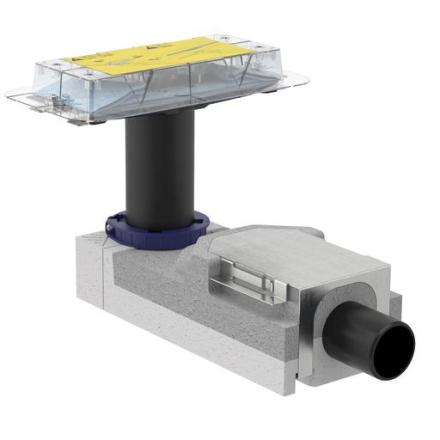 Geberit CleanLine underdel Ø50 mm, m/Vannlås, 50 mm