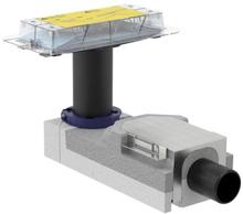Geberit CleanLine installationssats för golvränna i CleanLine-serien m/vattenlås, 50 mm