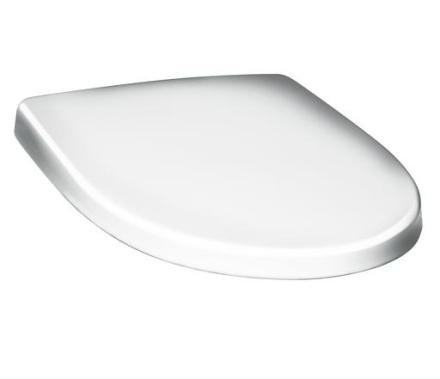 Gustavsberg Nautic 9M25 toalettsits m/rostfria fästen - Vit