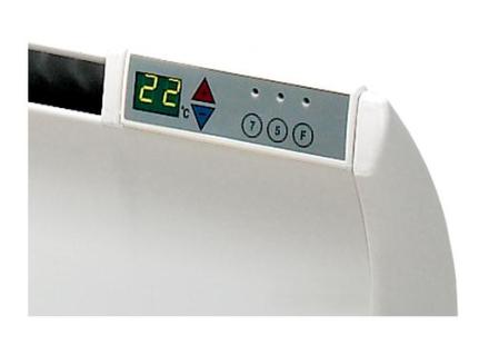 Glamox Digitall termostat til TPA og TLO, 230V, Hvit