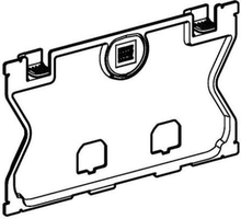 Geberit Beskyttelsesplate til Frontbetjent høyde 112 cm