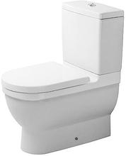 Duravit Starck 3 toilet m/P-lås, rengøringsvenlig, hvid