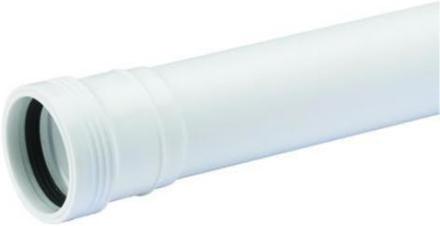 Plast avløpsrør 50 mm. 50 cm.