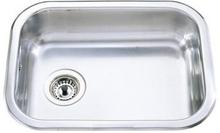 Intra K480 Kjøkkenvask 54x40 cm, m/kurveventil, Rustfritt stål