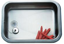 Franke Eurodomo EK480 Kjøkkenvask 52,5x38 cm, m/propp og kjetting, Rustfritt stål