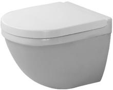 Duravit Starck 3 Compact vegghengt toalett m/skjult montering, hvit