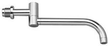 Vola 030 250 mm dobbelt bevegelig tut - børstet krom