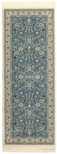 Nain Florentine - Ljusblå matta 80x200 Orientalisk, Avlång Matta