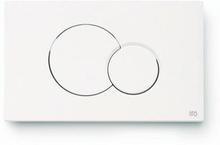 Ifö Classic frontlucka/spolknapp med dubbelspolning till Fresh WC Sticks, Vit - Generation 2