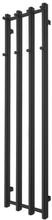 TVS Vino håndklædetørrer 35 x 140 cm i sort